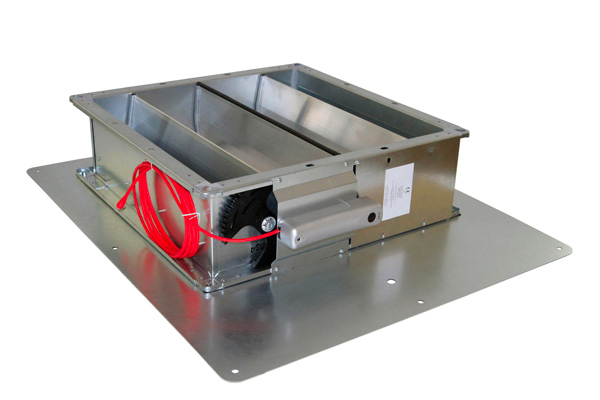 JK-180 HV-dB – Ventilation flap with direct current motor