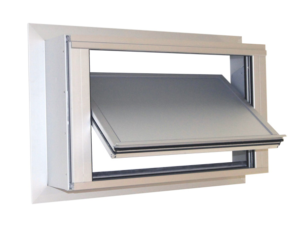S9-iVt-05 LF-MR – Insulated louvre windows for vertical façades